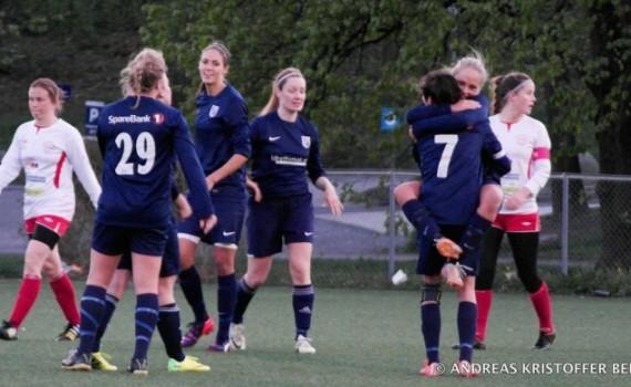 Damelaget i OBOS cup finalen