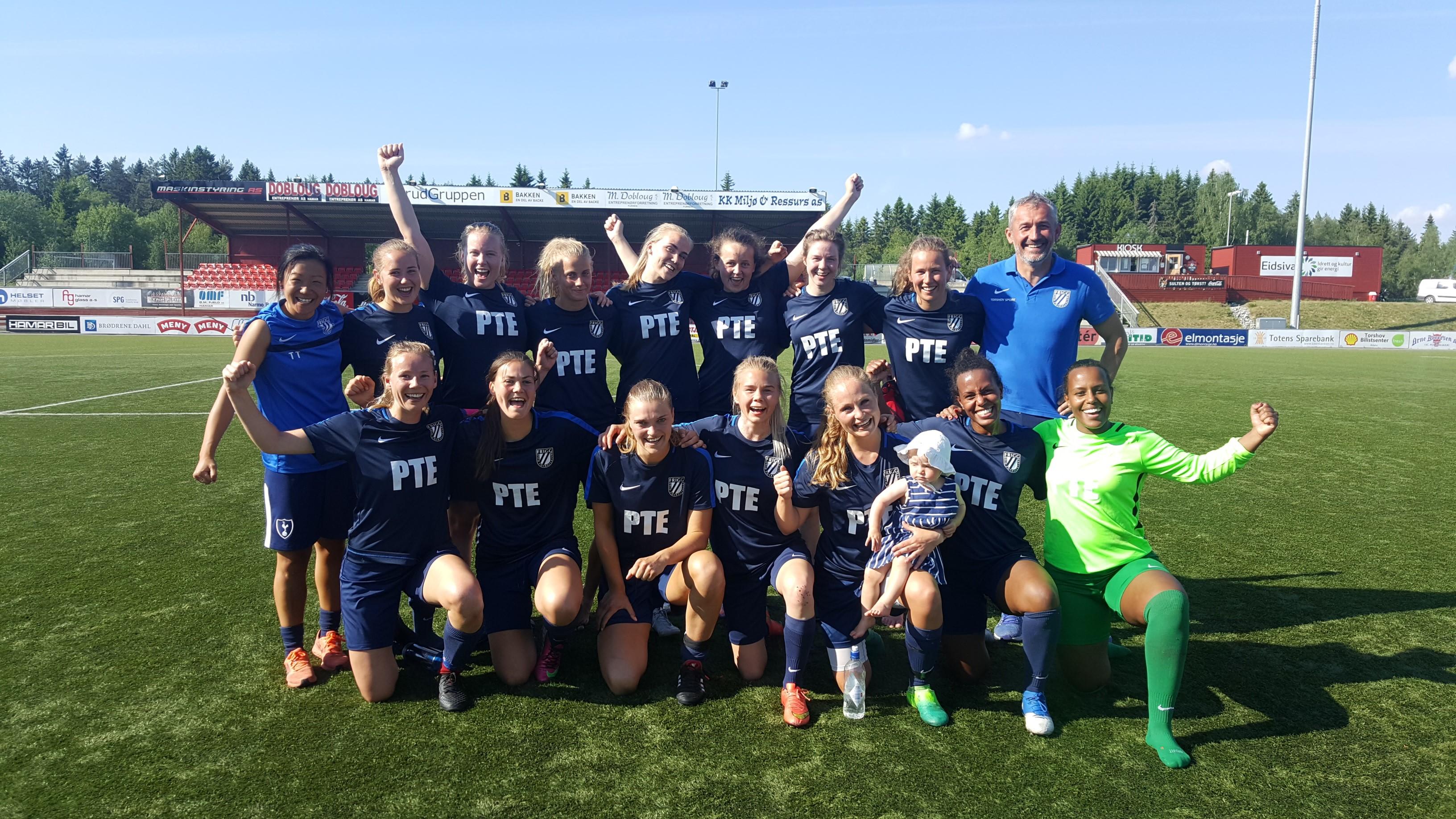 Damelaget runder av en flott sesong med finale i OBOS-cup!