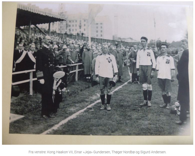 Frigg og Norges første fotballproff